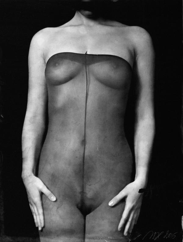 renata vogl scanned original ferrotype, stockings, original size 13x10 cm