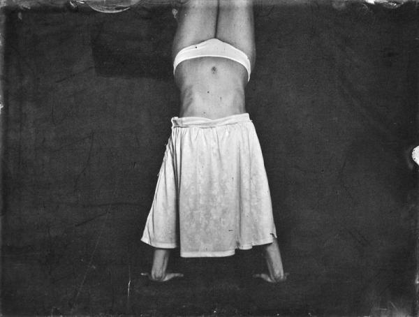 Renata Vogl scanned original ferrotype skirt  original size 13x10 cm
