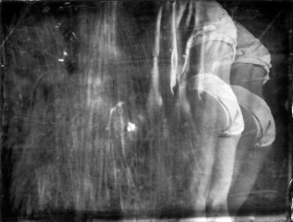 Renata Vogl scanned original ferrotype concealed original size 13x10 cm