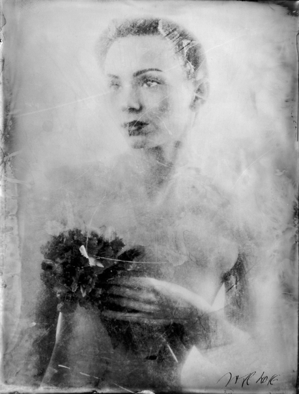 renata vogl scanned original ferrotype, finesse, original size 13x10 cm