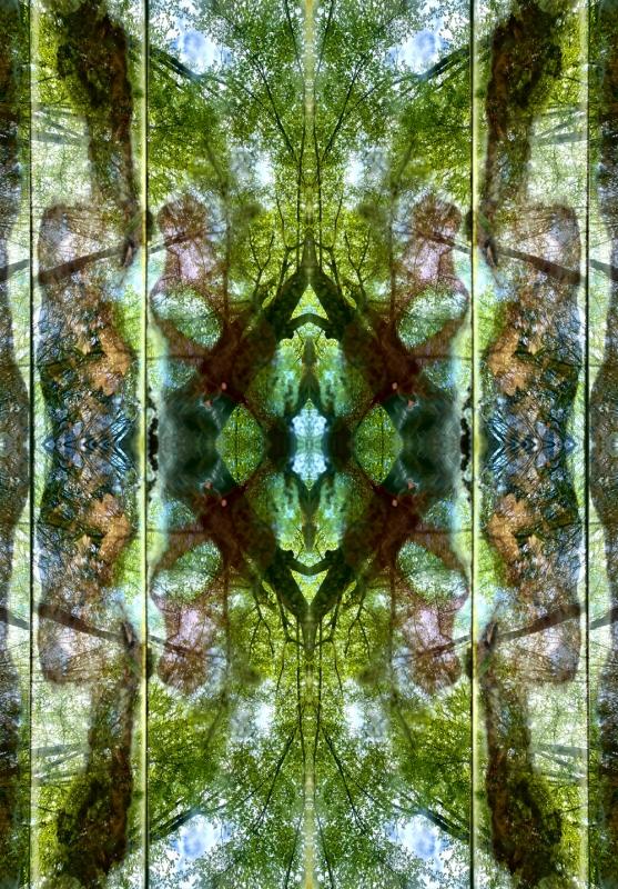 renata hazakova  GAIA- fractal temple NO1