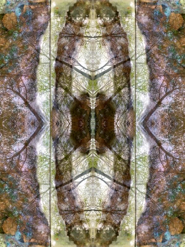 renata hazáková GAIA - fractal temple NO2