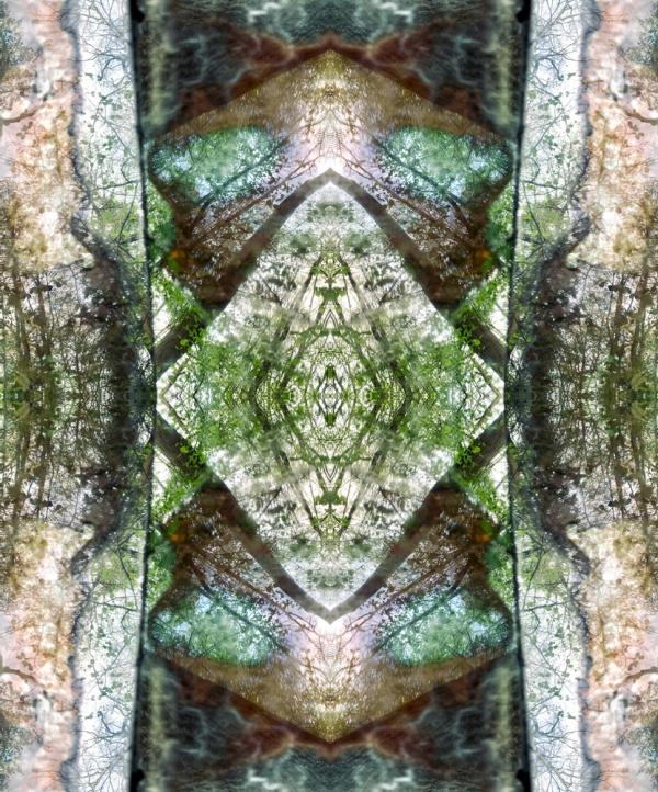 renata hazákova  GAIA - fractal temple NO3