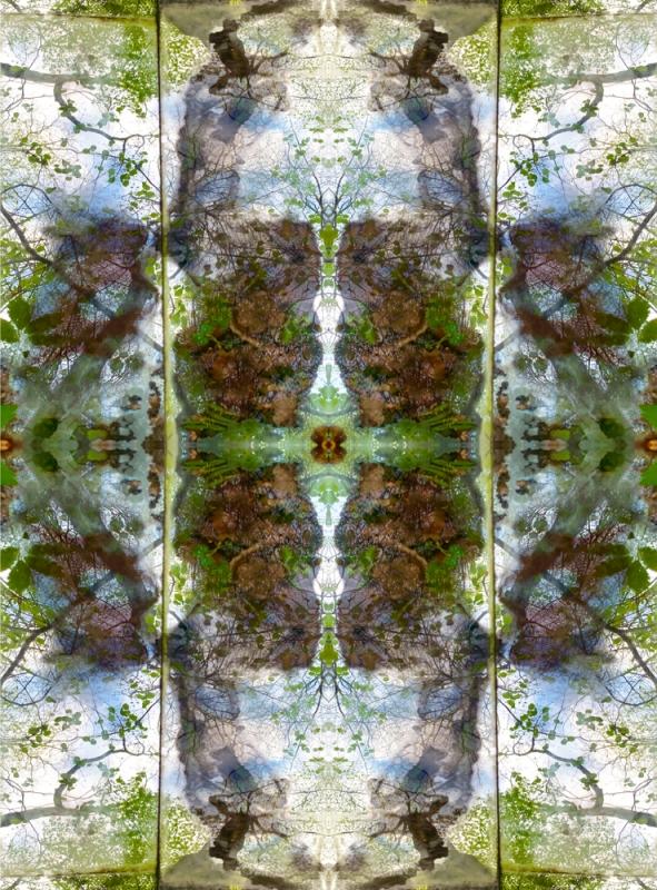 renata hazákova GAIA - fractal temple NO4